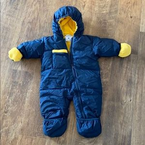 Columbia 18mths down snowsuit